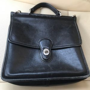 Vintage coach leather Willis bag beautiful classic